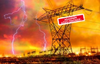 Elektrik akımına kapıldı! Yaşam mücadelesi veriyor