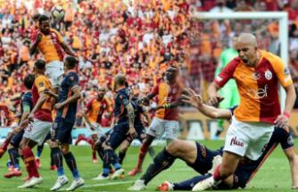 Galatasaray bir hafta kala şampiyonluğa ulaştı