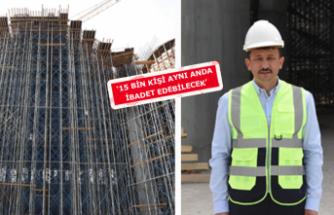 İzmir'in en büyük camisi tamamlanmak üzere!