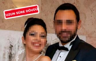 İş insanından, boşanma aşamasındaki eşine darp