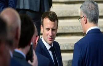 Macron: Türkiye sondaj faaliyetlerini sona erdirsin