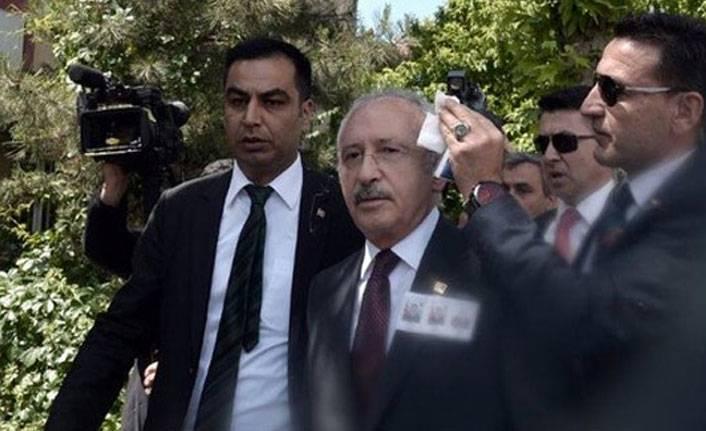 Kemal Kılıçdaroğlu saldırıya uğradı!