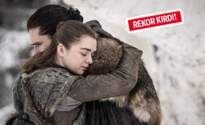 Game Of Thrones'tan büyük başarı!