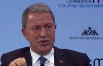 Akar Münih Güvenlik Konferansı'nda konuştu