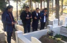 Trabzonspor'dan Turgut Uçar'ın kabrine ziyaret