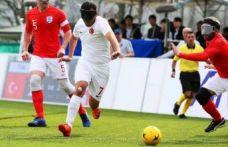 Görme Engelliler B1 Futbol Milli Takımı 5'inci oldu