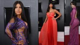 Grammy Ödülleri gecesinin kırmızı halısı