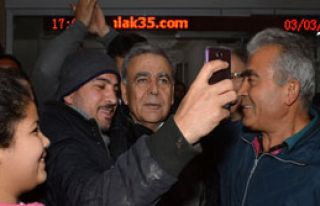 Başkan Kocaoğlu ile 'Selfie' Modası