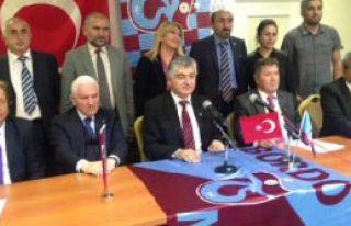 'Trabzonspor'a Başarı Ve Barış Getireceğiz'