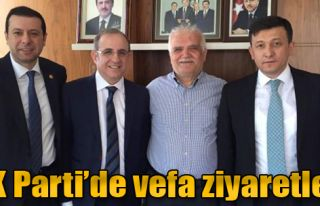 AK Parti'de Vefa Ziyaretleri