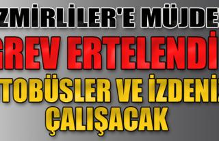İzmir'e Müjde!