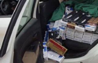 9 Bin Paket Kaçak Sigara