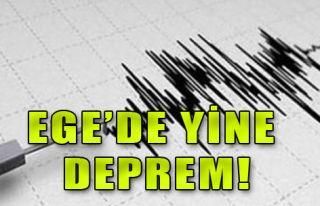 Ege'de Depremler Bitmiyor