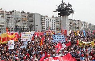 DİSK'ten İzmirlilere 1 Mayıs çağrısı