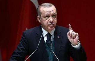 Erdoğan'dan vekillere: Ben yoksam kimse AK Parti...