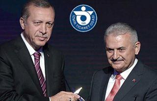 Erdoğan ve Yıldırım İZTO'da işadamlarıyla...