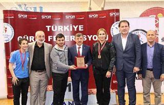 U23 Kadınlar Türkiye Güreş Şampiyonası sona...