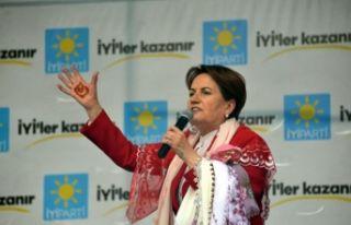 Meral Akşener'den Muharrem İnce'ye yanıt