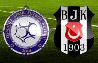 Beşiktaş'tan sürpriz kadro