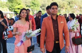 Bodrum'da 5 milyon dolarlık Hint düğünü