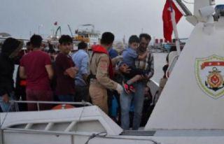 Ege Denizi'nde 740 kaçak göçmen yakalandı!