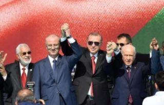 Erdoğan: Bizim için Çanakkale neyse Kudüs de odur