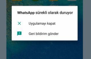 GM 8 WhatsApp ve Instagram sorunu (Uygulama Durduruldu...