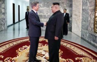 Güney ve Kuzey Kore liderlerinden sürpriz buluşma