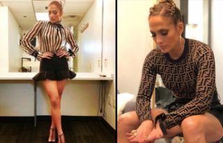 Jennifer Lopez, sosyal medyayı salladı