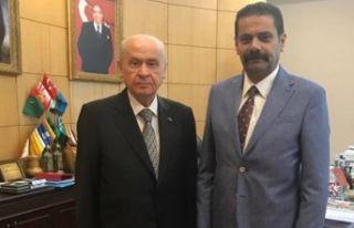 Kalyoncu'dan Bahçeli'ye ziyaret: İzmir'in...