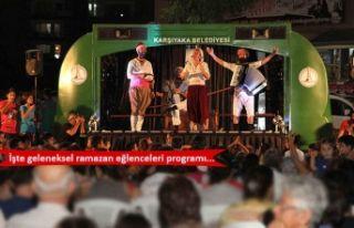Karşıyaka'da Ramazan coşkusu
