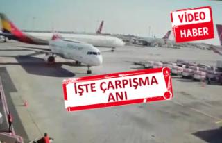 Uçak kazası güvenlik kamerasına böyle yansıdı!