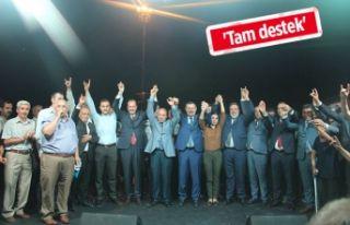 Karataş: Türk Milleti selameti için Erdoğan'ı...