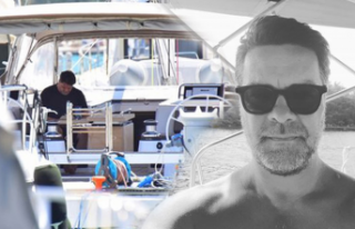 Beyazıt Öztürk'ten tekne selfiesi