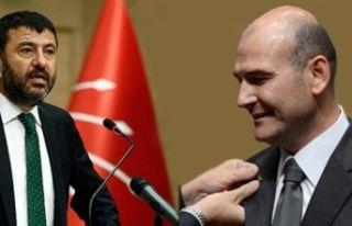 CHP'li Ağbaba'dan Soylu'nun sözlerine...