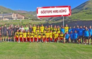 Göztepe, Erzurum'da güç depoluyor