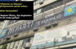 İYİ Parti İzmir'de 'seçim sonrası'...