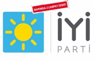İYİ Parti İzmir'in 'seçim' raporu...