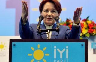 İYİ Parti'den Meral Akşener'e bir çağrı...