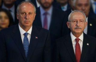 Muharrem İnce'den Kılıçdaroğlu'na flaş...