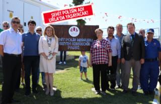 Şehit Polis Kesikoğlu'nun adı Urla'da yaşayacak