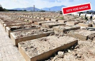 Torbalı'ya 'çift katlı' mezar yapılacak
