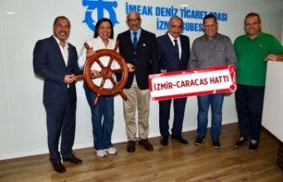 İzmir Alsancak Limanı'na Venezuela'dan...