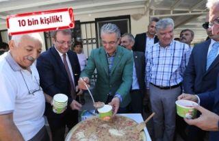 Karşıyaka'da dev 'aşure' buluşması