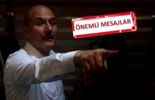 Bakan Soylu'dan AK Parti İl Başkanlığı'na...