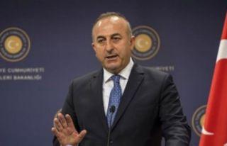 """""""Çavuşoğlu Rum lider Anastasiadis'le..."""