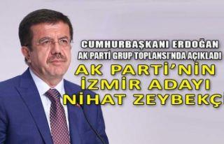 AK Parti İzmir'in adayı Zeybekçi oldu