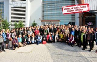 Ege'nin üretici kadınları Balçova'da...