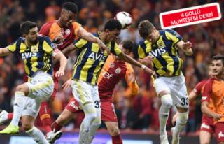Galatasaray evinde Fenerbahçe ile berabere kaldı!
