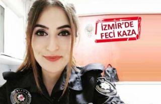 İzmir'de polis memuru, trafik kazasında ağır...